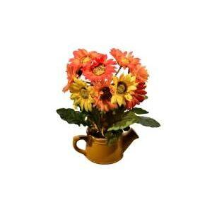 Aranjament stropitoare cu flori 37 cm