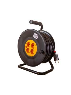 Derulator cablu electric 4 prize, 3x2.5mm, 25m