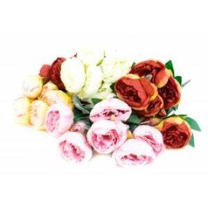 Flori artificiale buchet 7 bujori